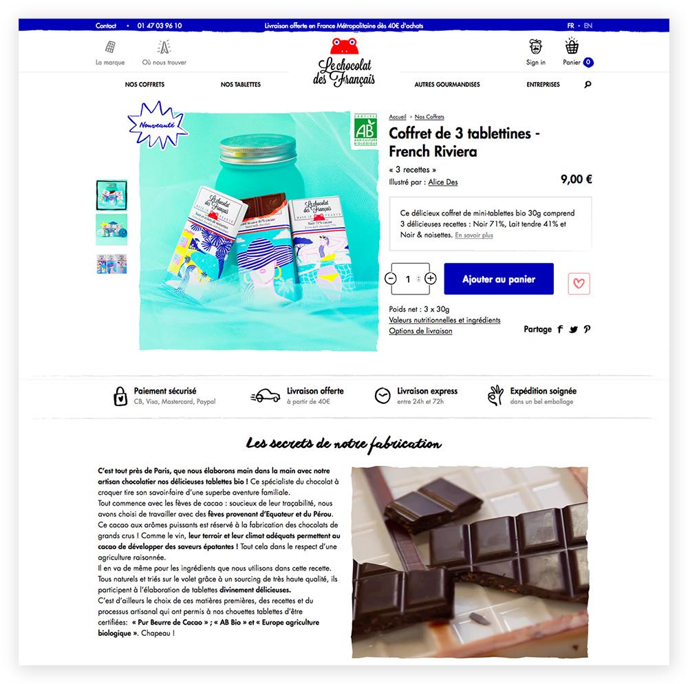 Alice Des – Le Chocolat Des Français – Site