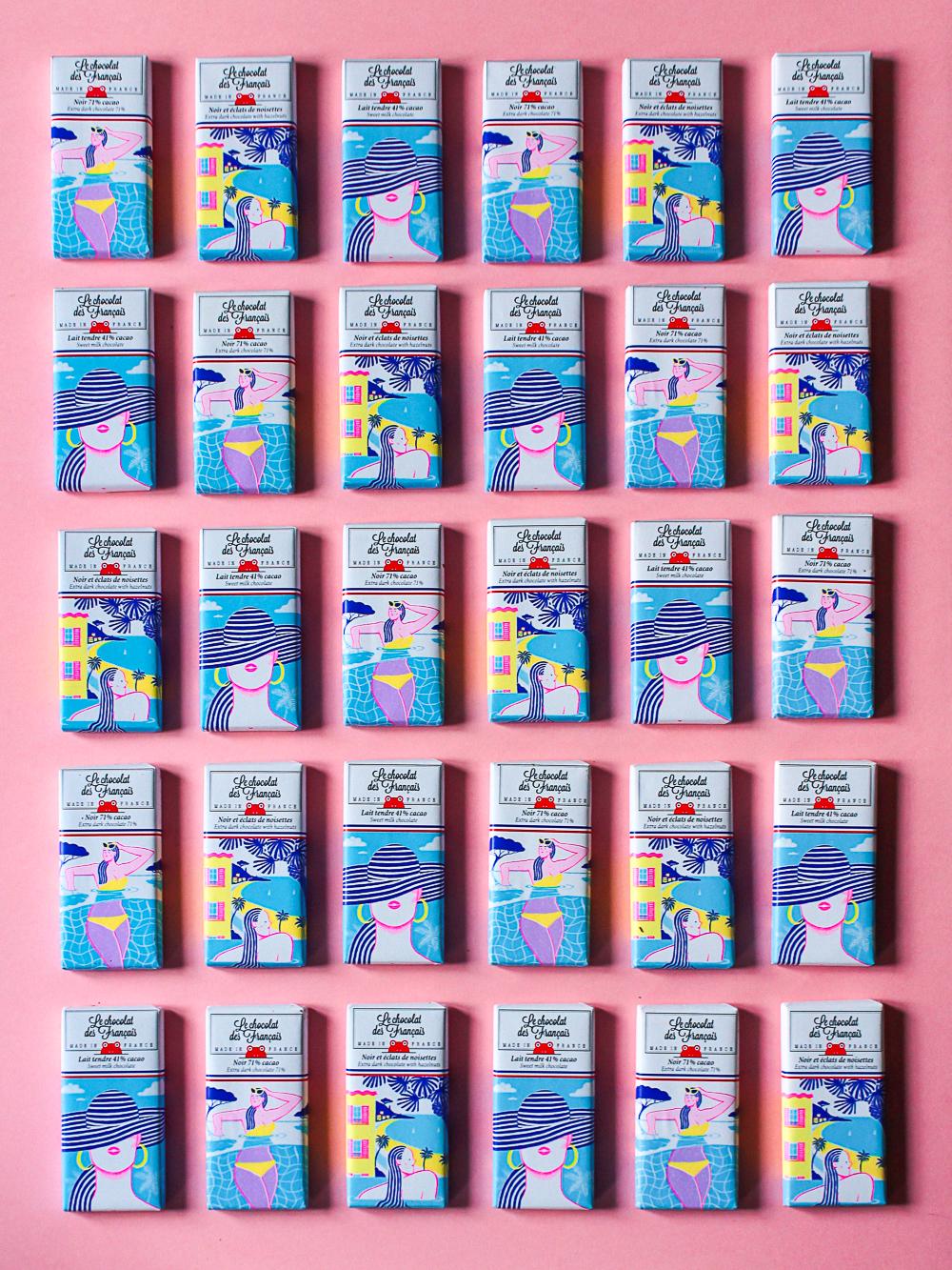 Alice Des – Le Chocolat Des Français – Pattern 13