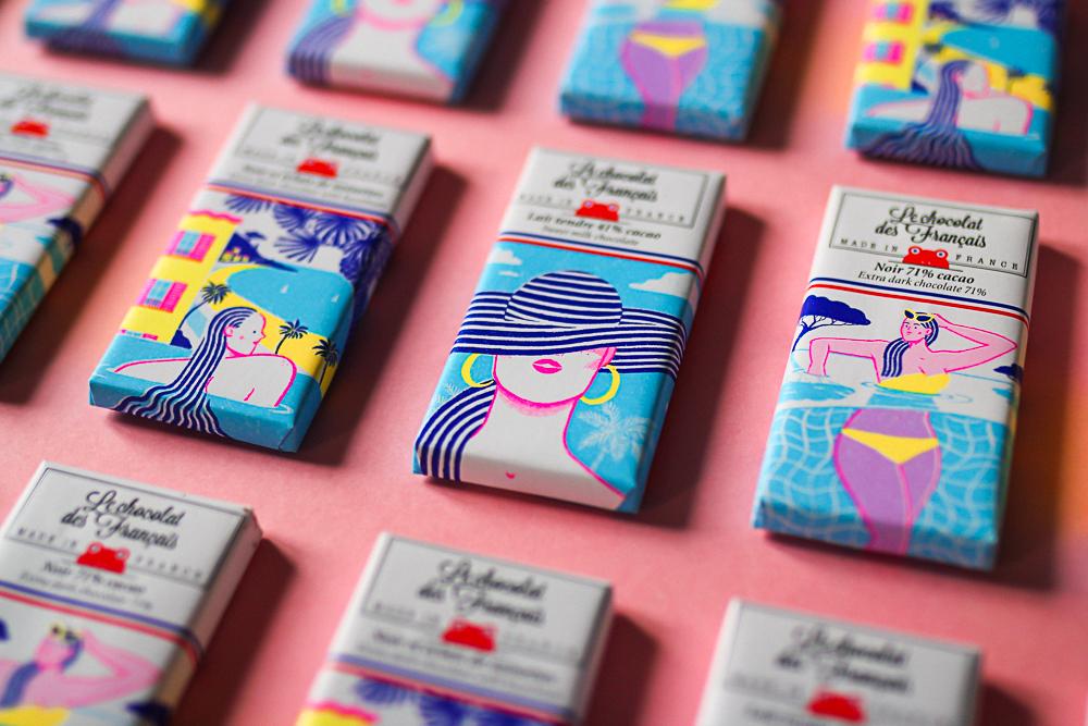 Alice Des – Le Chocolat Des Français – Pattern 2