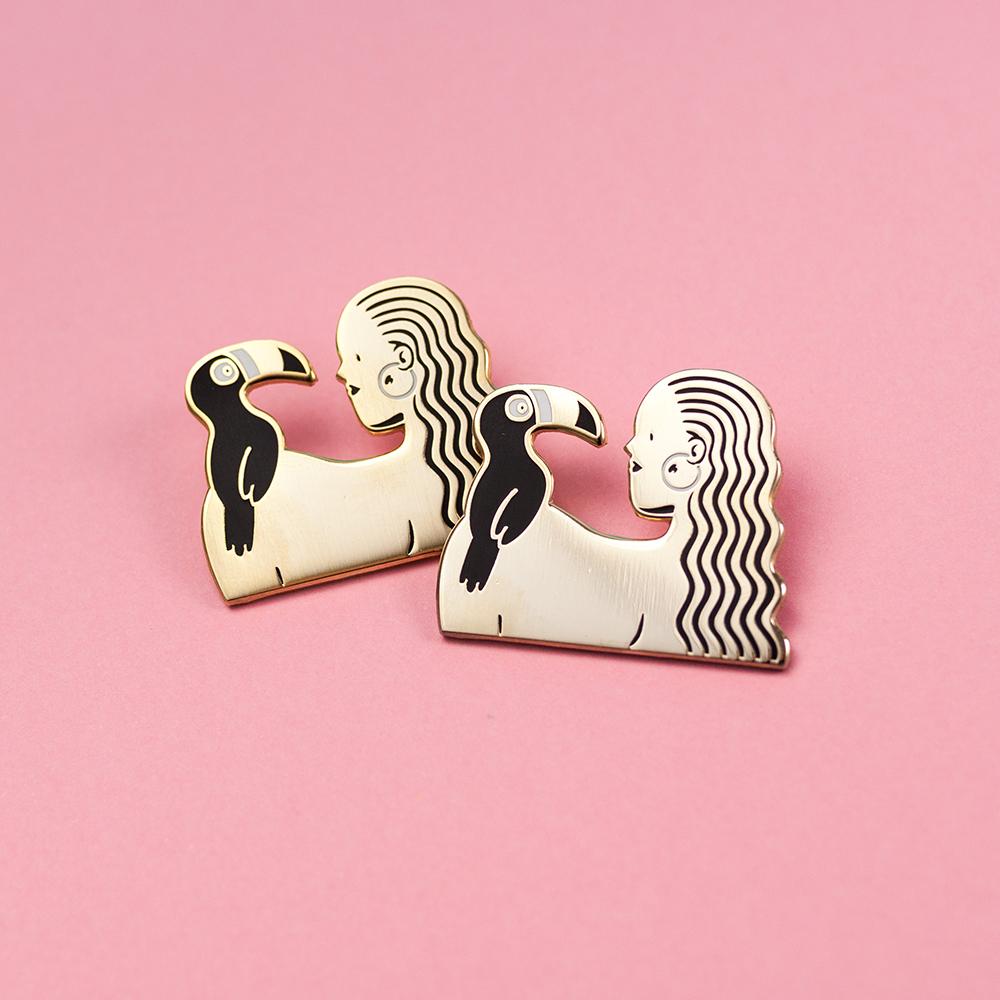 Alice Des – Pins Toucan – Rose 3