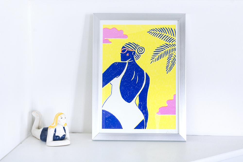 Alice Des – Le Bain – Print