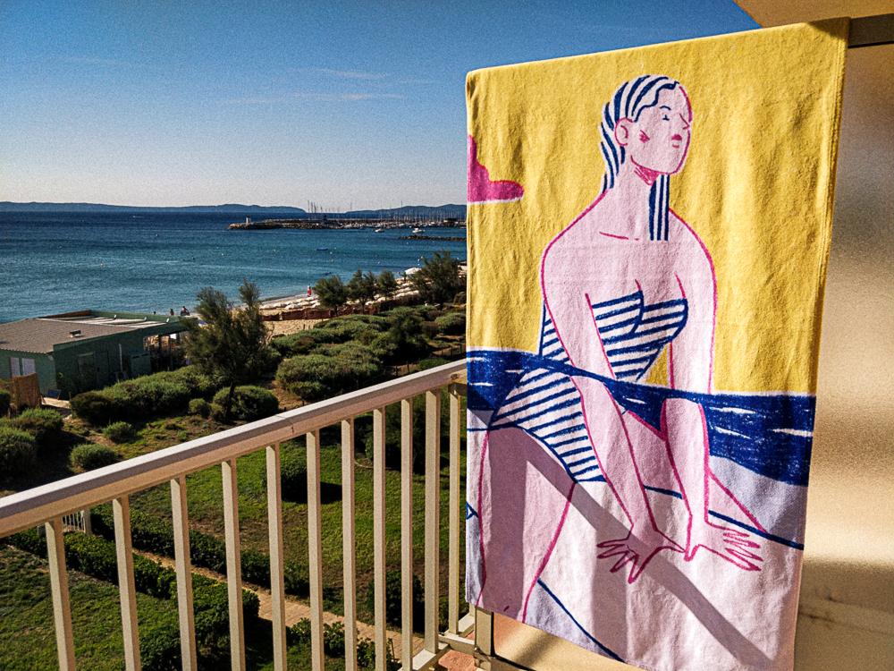 Alice Des – Le Surf – Beach Towel 3