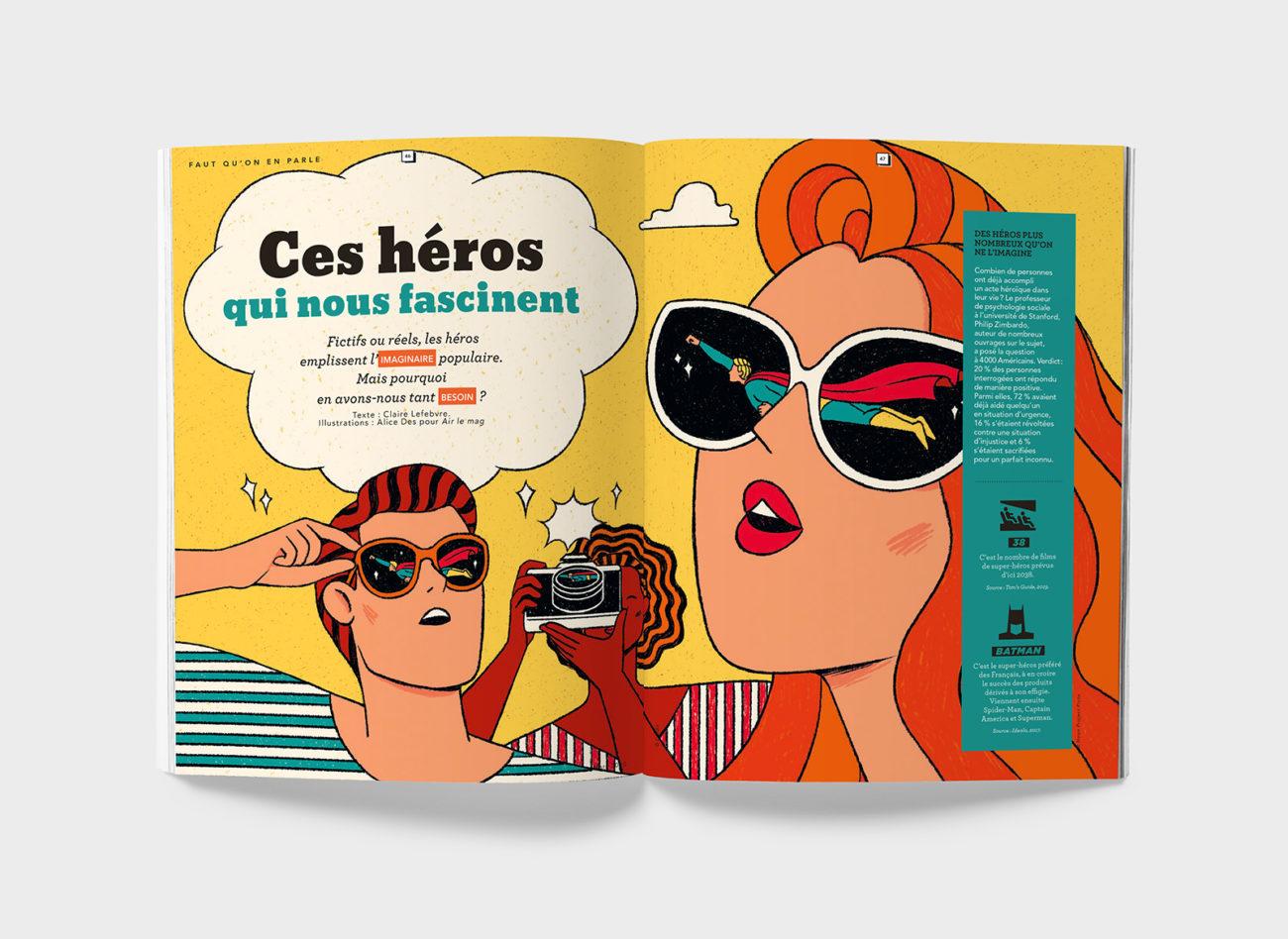 Air le Mag – Heros – Alice Des