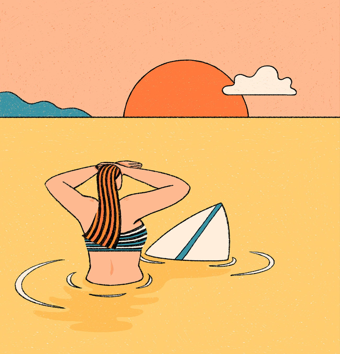 Le Surf – Innocence X Alice Des