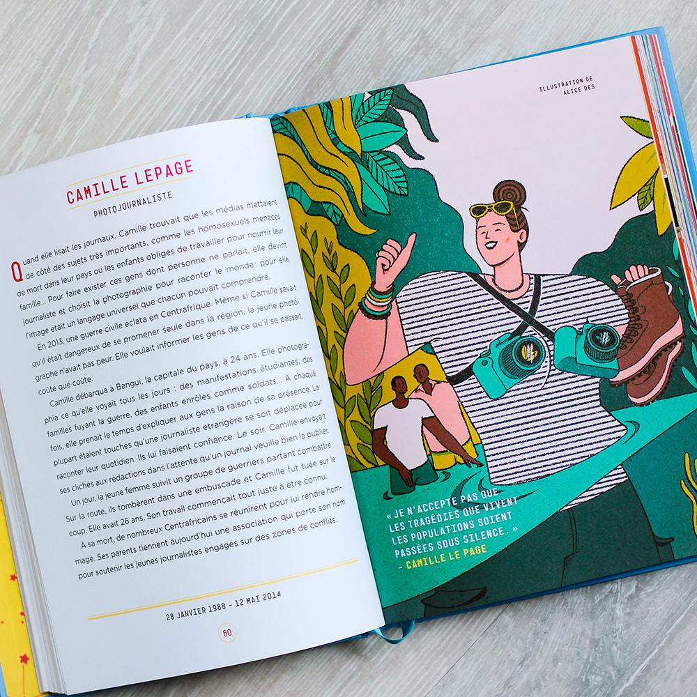 Camille Lepage – Histoires du Soir pour Filles Rebelles