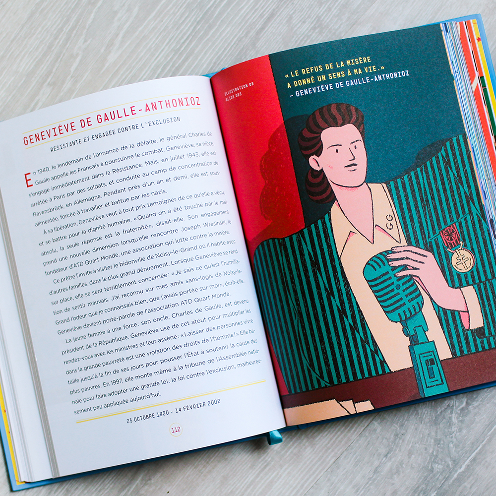 Geneviève de Gaulle-Anthonioz – Histoires du Soir pour Filles Rebelles