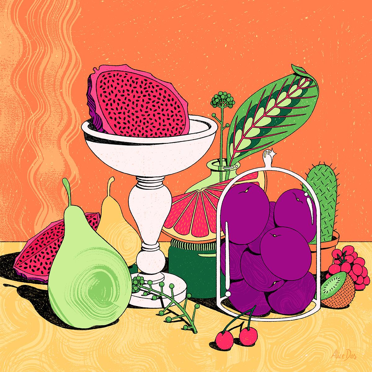 Alice Des – La Salade de Fruits