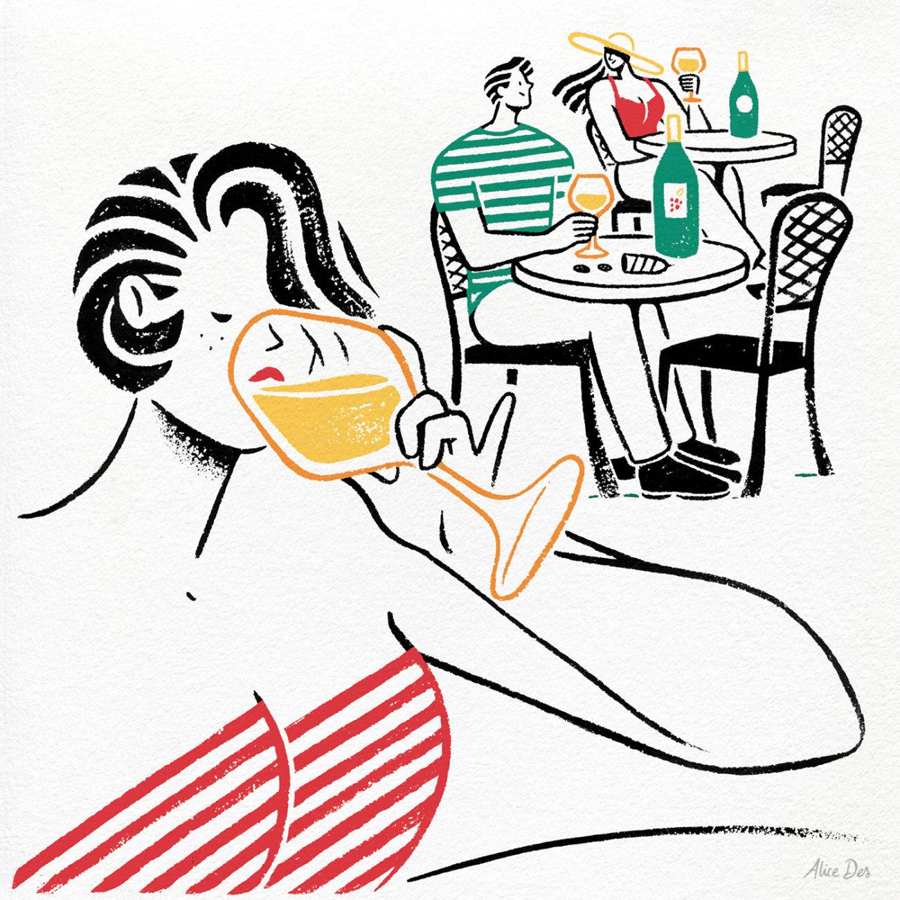 Alice Des – Les Echos – Vin Blanc