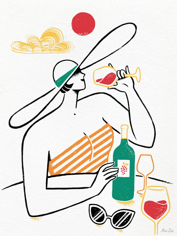 Alice Des – Les Echos – Vin Rouge